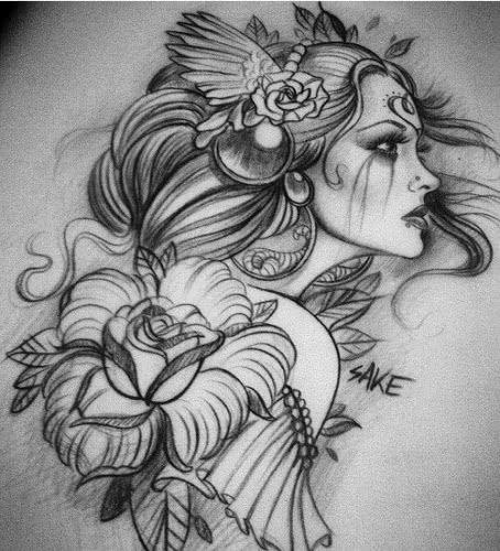 Desenhos Para Tatuagens Realistas Tatuagens Ideias