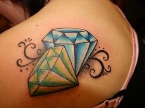 Tatuagens De Diamantes Desenhos Fotos Tatuagens 2019